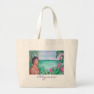 Polynesian in Paradise Jumbo Tote Bag