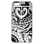 Polynesian lizard and mask tattoo design iPhone 5C case