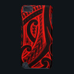 "Polynesian/Maori style tattoo design patterns iPod Touch 5G Cover<br><div class=""desc"">This is a halfsleeve tribal Polynesian tattoo,  created by renowned graphic/tattoo designer Mark Storm. You can find the original tattoo on his website www.storm3d.com The same design is available in 8 different bright colors,  so check my shop for all versions. Cheers Mark</div>"