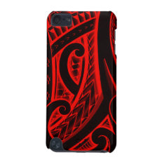 Polynesian/maori Style Tattoo Design Patterns Ipod Touch 5g Cover at Zazzle