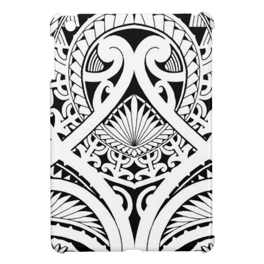 cb492ddb1 Polynesian / Maori tribal tattoo design Case For The iPad Mini | Zazzle.com