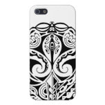 Polynesian mask tattoo design iPhone 5/5S case