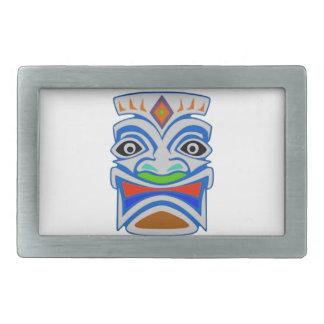 Polynesian Mythology Rectangular Belt Buckle