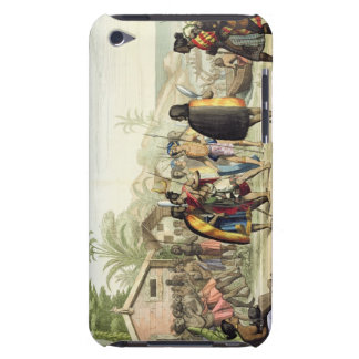 Polynesian Natives Greeting and Rubbing Noses, eng Case-Mate iPod Touch Case