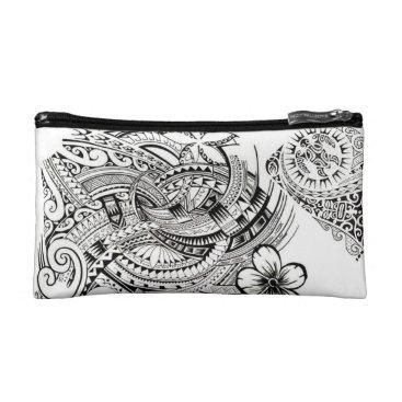 Aeterno Polynesian Pattern Cosmetic Bag