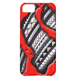 Polynesian tattoo underneath your skin case for iPhone 5C