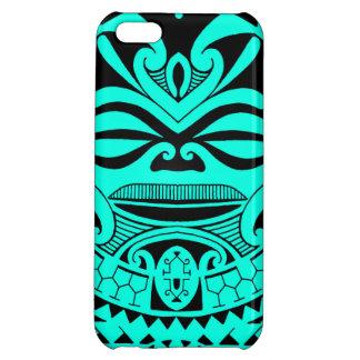 Polynesian tiki mask design iPhone 5C case