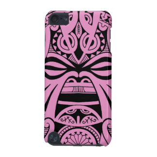 Polynesian tiki mask tattoo totem face iPod touch 5G cover
