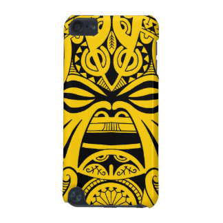 Polynesian tiki mask tattoo totem face iPod touch (5th generation) cover