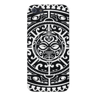 Polynesian Tribal Face 1 Cover For iPhone 5