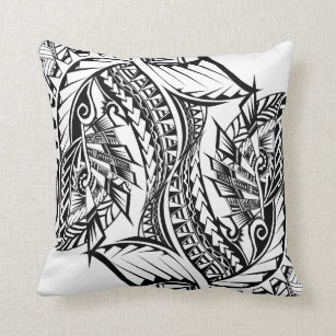 dd5bb40cd Tattoo Tribal Pillows - Decorative & Throw Pillows | Zazzle