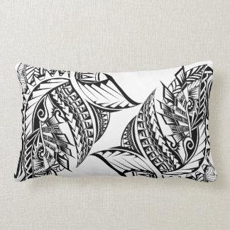 Polynesian Tribal tattoo design cushion Pillow