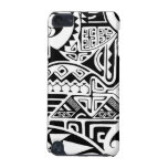 """Polynesian tribal """"The Rock"""" tattoo design iPod Touch 5G Covers"""