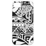 "Polynesian tribal ""The Rock"" tattoo design iPhone 5/5S Case"
