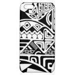 "Polynesian tribal ""The Rock"" tattoo design iPhone 5C Cases"