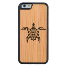 Polynesian Turtle Tattoo Designed Iphone6 Case at Zazzle