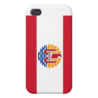 Polynsesian Pride: Flag of TAHITI Covers For iPhone 4