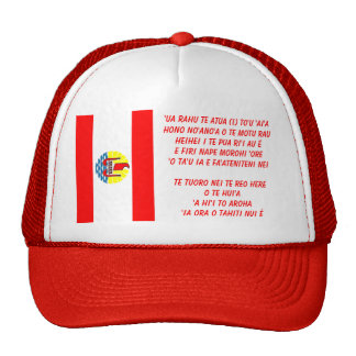 Polynsesian Pride: Flag of TAHITI Trucker Hat