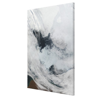 Polynya (open water) in the Beaufort Sea Canvas Print