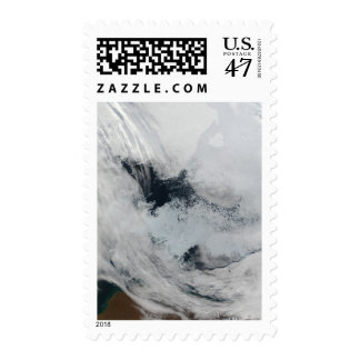 Polynya (open water) in the Beaufort Sea Postage Stamp