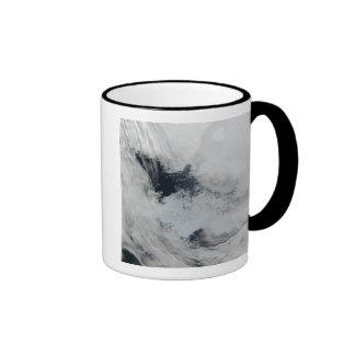 Polynya (open water) in the Beaufort Sea Ringer Mug