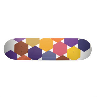 Polypattern Skateboard