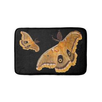 Polyphemus Moth Bath Mats