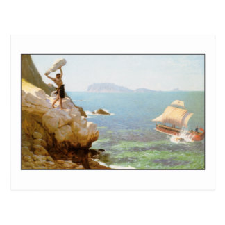 Polyphemus the Cyclops by Jean-Leon Gerome Postcard