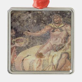 Polyphemus the Cyclops, Roman mosaic Christmas Ornament