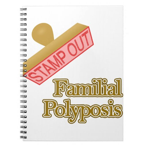 Polyposis familiar spiral notebooks