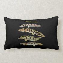 Polypterus delhezi lumbar pillow