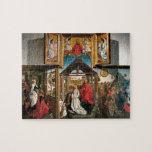 Polyptych con la natividad de Rogier van Weyden Puzzles