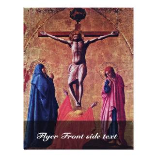 Polyptych For Santa Maria Del Carmine In Pisa Cres Flyer