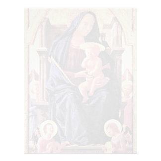 Polyptych For Santa Maria Del Carmine In Pisa Midd Personalized Letterhead