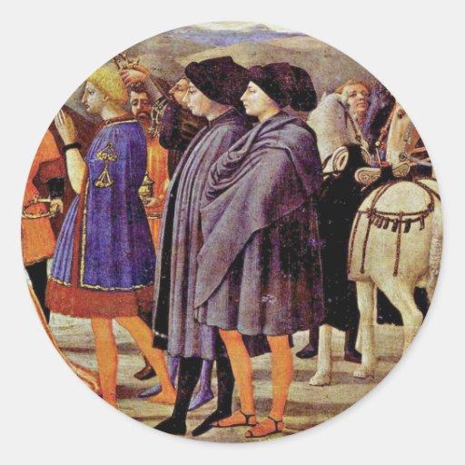 Polyptych For Santa Maria Del Carmine In Pisa Thir Sticker