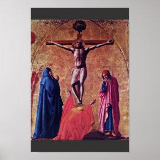 Polyptych para Santa María Del Carmine In Pisa Cre Poster
