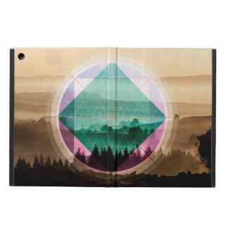 Polyscape landscape art cover for iPad air