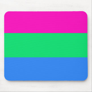 Polysexual pride flag mouse pad