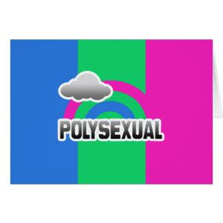 POLYSEXUAL RAINBOW CARDS