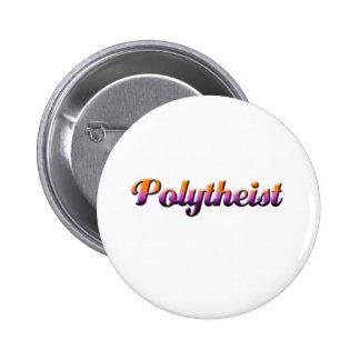 polytheist pin redondo de 2 pulgadas