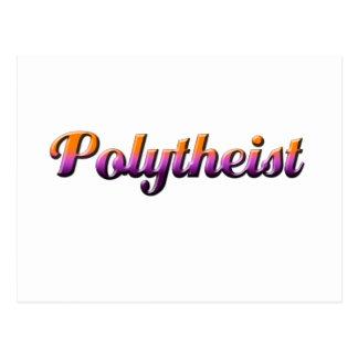 polytheist tarjeta postal
