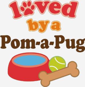 Pom A Pug T-Shirts - T-Shirt Design   Printing  3b782f062