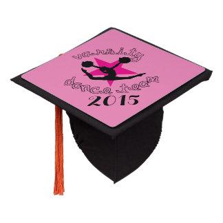 Pom Dancer Graduation Cap Topper
