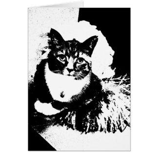 ¡Pom del pom del haz del gato I de la animadora! Tarjeta De Felicitación