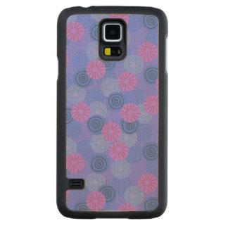 Pom-pom Carved® Maple Galaxy S5 Slim Case