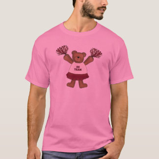 Pom Pom Cheerleader Bear Tshirts and Gifts