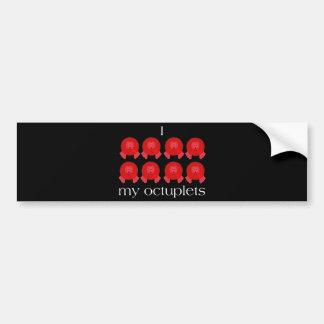 Pom Pom Octuplets Bumper Sticker