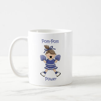 Pom-Pom Power Brunet Coffee Mug