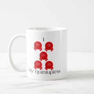 Pom Pom Quintuplets Mug
