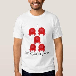 Pom Pom Quintuplets Tee Shirt
